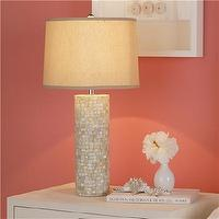 Lighting - Mother of Pearl Table Lamp - Shades of Light - lamp, mother of pearl