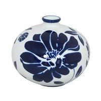 Decor/Accessories - Porcelain Floral Vase - Blue/White : Target - white, blue, porcelain, vase