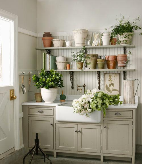 The Garage Turned Garden Shed Storage Ideas Country Living