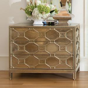 Storage Furniture - Liv-Chic Furniture â?? Greenbrier Hexagon Chest - hexagon, chest