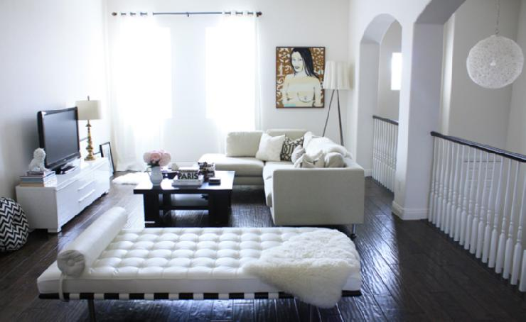 Barcelona Bench Contemporary Living Room Made By Girl