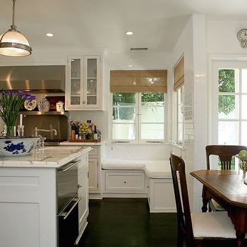 Kitchen Window Seat, Transitional, kitchen, Jeneration Interiors