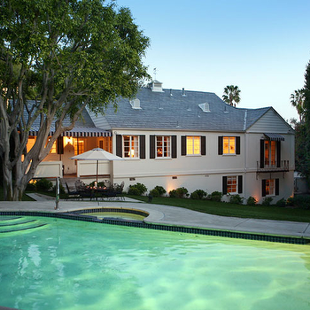 In Ground Pool, Transitional, pool