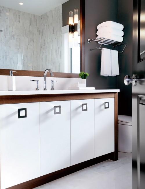 Two Tone Vanity - Contemporary - bathroom - Atmosphere Interior Design