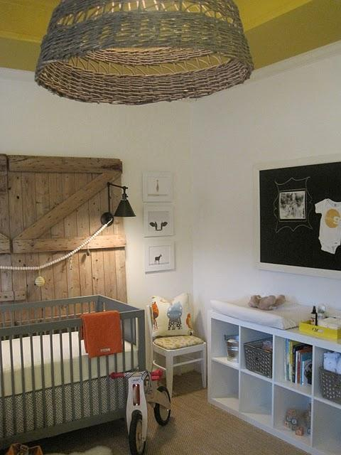 Gray Nursery Crib Country Nursery Sherry Hart Designs