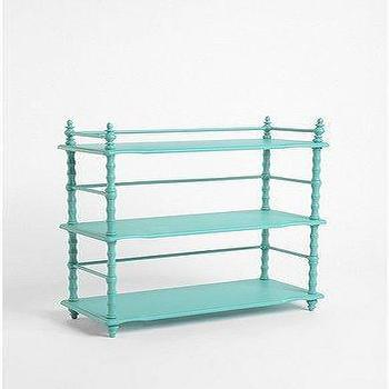 Storage Furniture - UrbanOutfitters.com > Old House Bookshelf - turquoise, blue, bookshelf