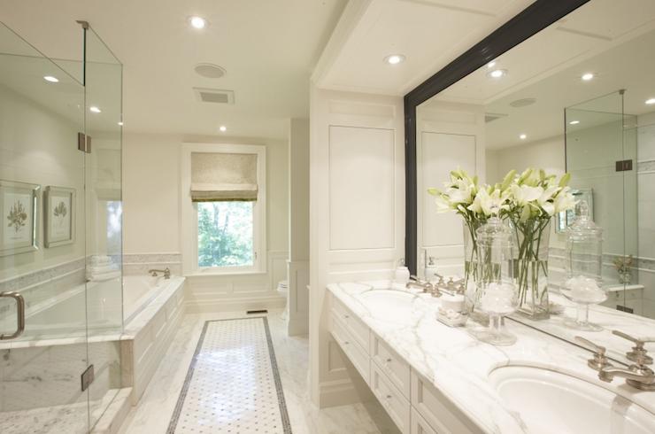 Floating Bathroom Cabinets Transitional Bathroom