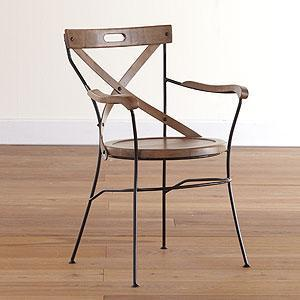 Seating - Campaign Chair | Dining Room Furniture| Furniture | World Market - campaign, chair