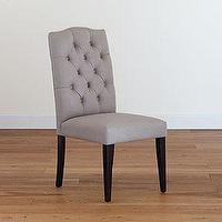 Seating - Grey Tufted Chair, Set of 2 | Dining Room Furniture| Furniture | World Market - gray, tufted, chair
