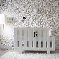 Layers of Meaning - nurseries: Ikea, flokati, rug, white, modern, Spot on Square, Eicho, crib,  Fantastic boy&#039;s nursery design with Ferm Living