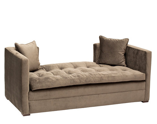 Horchow Pewter Settee Look 4 Less!
