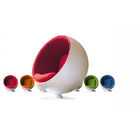 Art/Wall Decor - Eero Aarnio Style Ball Chair New | Best Price Ball Chairs | Eero Aarnio Ball Chair Replica - Eero Aarnio Ball Chair