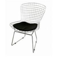 Art/Wall Decor - Bertoia Style Wire Side Chair | Modern furniture | Interior Trade furniture - Bertoia Style Wire Side Chair
