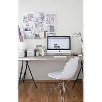 Art/Wall Decor - White Eiffel Molded Wire Base Side Chair | Modern Eiffel Chair Wire Base | Discount Eiffel Chair - Eiffel Chair