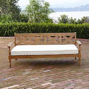 Maldives Deep Bench, Outdoor and Patio Furniture| Furniture, World Market