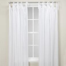 Window Treatments - Cotton Breeze Window Panels - Bed Bath & Beyond - curtain