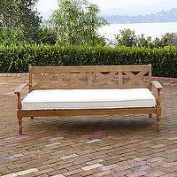 Seating - Maldives Deep Bench | Outdoor and Patio Furniture| Furniture | World Market - patio deep sofa bench