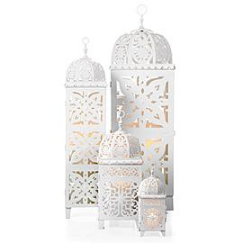 Decor/Accessories - Casablanca Lanterns | Z Gallerie - lantern, white