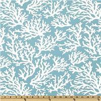 Fabrics - Swavelle/Mill Creek Indoor/Outdoor Faylinn Teal - Discount Designer Fabric - Fabric.com - fabric