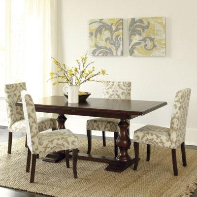 Lexington long cove fall river extension dining table for Ballard designs dining room