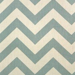 Fabrics - Zig Zag - Village Blue/Natural - fabric