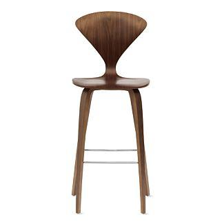 Cherner Counter Stool, Walnut, Design Within Reach