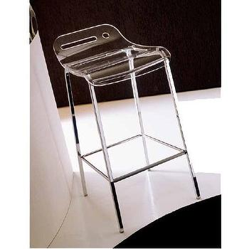 Seating - Open Stool - acryslic, counter stool