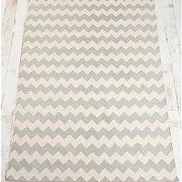 Rugs - UrbanOutfitters.com &gt; 5x7 Zigzag Printed Rug - gray chevron rug
