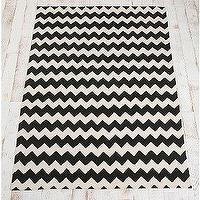 Rugs - UrbanOutfitters.com &gt; 5x7 Zigzag Printed Rug - black, zigzag, chevron, rug
