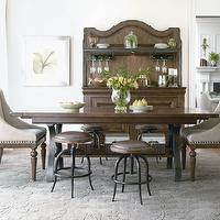 dining rooms - Dining table, chairs, stools,  Dining room table