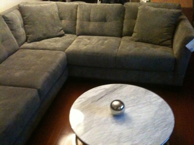 Apartment Size Sectional Sofa With Chaise Lounge - Sectional Sofas