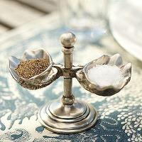 Decor/Accessories - Shell Salt & Pepper Cellars | Pottery Barn - shell, salt, pepper, cellars