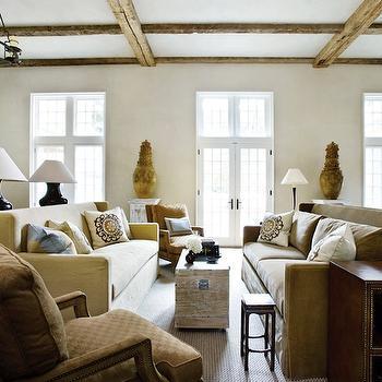 Wingback Sofa, Transitional, living room, Beth Webb Interiors