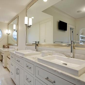 Double Vanity Ideas, Contemporary, bathroom, Paul Moon Design