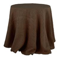 Decor/Accessories - Colored Burlap Tablecloth | Linens | Wisteria - burlap, tablecloth