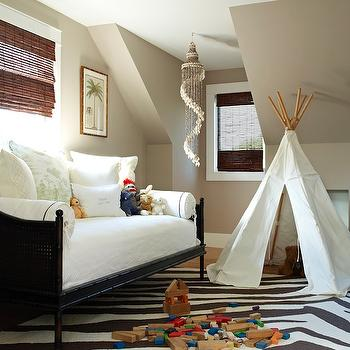Zebra Rug, Transitional, boy's room, Bella Mancini Design