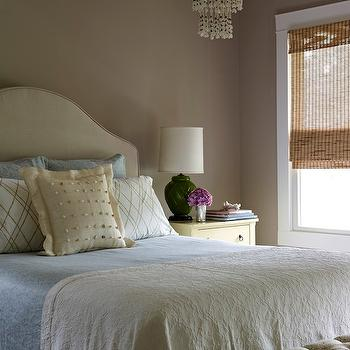 Milk Chocolate Walls, , Transitional, bedroom, Bella Mancini Design