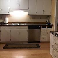kitchens - Valspar - Sunbaked - Valspar Sunbaked, countertop,  Laminate is the backsplash right now and we are taking it off for the tiled backsplash.