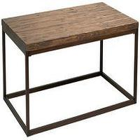 Tables - Pinecrest Natural Pine Cocktail Table | LampsPlus.com - coffee table, industrial