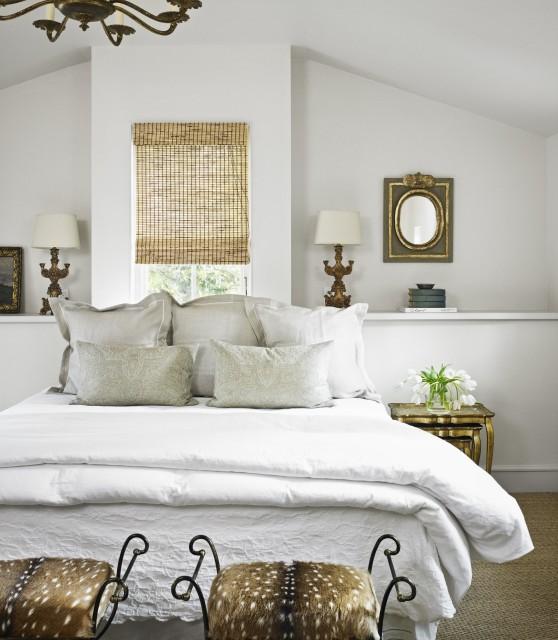 Bed under Window - Transitional - bedroom - Hugh Jefferson