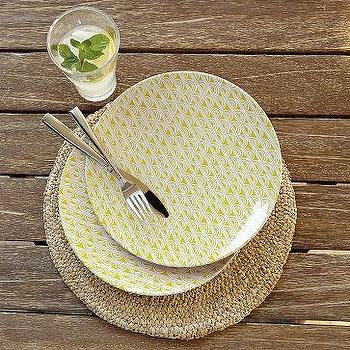 Decor/Accessories - Sunshine Melamine Plates | west elm - Sunshine, Melamine, Plates