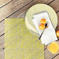 Decor/Accessories - Sunshine Polypropylene Placemat | west elm - Sunshine, Polypropylene, Placemat
