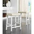 Seating - Counter Stool White Search Results | Overstock.com - white counter stool