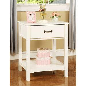 Storage Furniture - Walmart.com: Elise Nightstand, Soft White: Kids' & Teen Rooms - nightstand, white