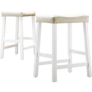 Seating - Walmart.com: Hahn 24 - counter stool, white