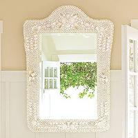 Mirrors - Shell Mirror | Pottery Barn - shell, mirror
