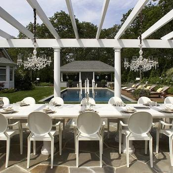 Pergola Ideas- Transitional, deck/patio, Carlos Miranda Design