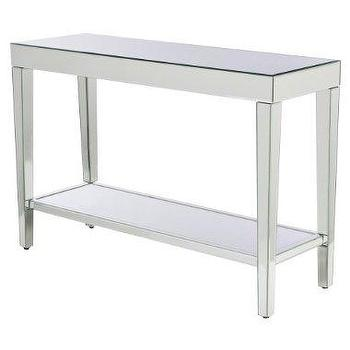 Tables - Mirrored Console Table : Target - console table