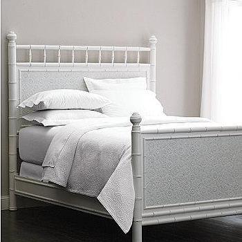 Faux-Bamboo Bed, Garnet Hill