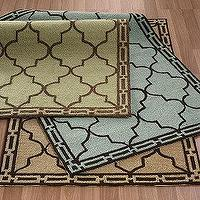 Rugs - Tilework Indoor / Outdoor Rug | The Company Store - tilework, moorish, tiles, indoor, outdoor, rug